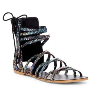 New Free People Juliette Strappy Sandals Womens 37